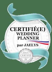Wedding planner certifiée