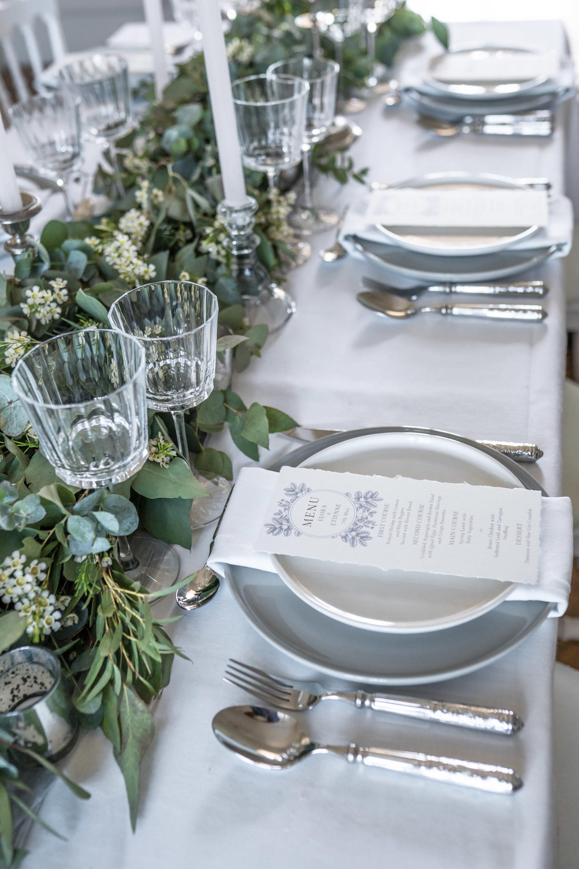 Idée menu mariage